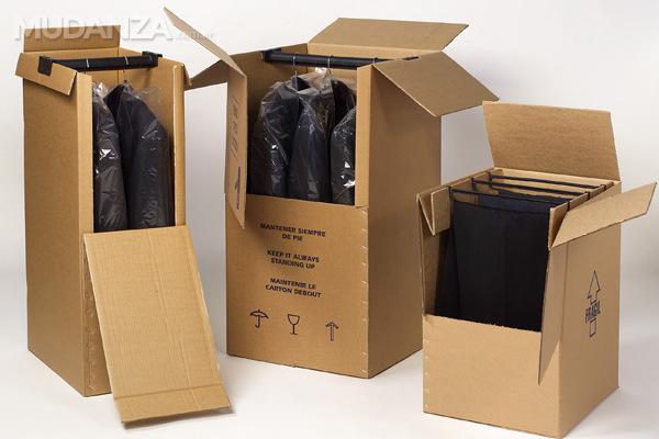 Cajas ropero un plus para traslados de ropa for Cajas para mudanzas